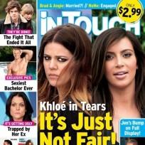 Khloe Kardashian Tabloid Tears