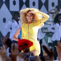 Beyonce on Stage, In Concert