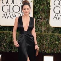 Katharine McPhee Golden Globes Dress