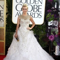 Julianne Hough at the Golden Globes