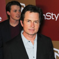 Michael j fox photograph