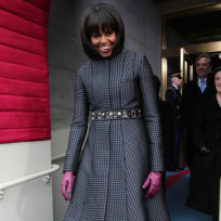 Michelle Obama Inauguration Dress, Coat