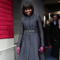 Michelle Obama Inauguration Dress, Coat