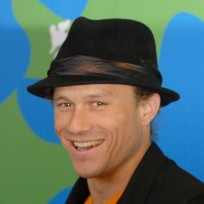 Heath Ledger Witha Hat