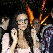 Demi moore large glasses