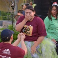 Marriage Proposal Photo Bomb