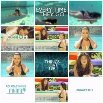 Kourtney & Kim Take Miami Poster