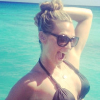 Molly Sims Bikini Photo