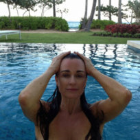 Kyle Richards Topless