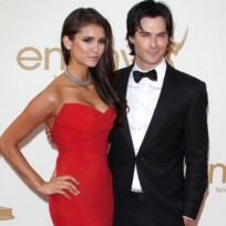 Nina dobrev ian somerhalder photo