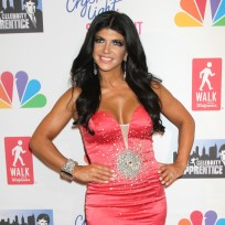 Teresa Giudice in a Low Cut