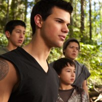 Taylor Lautner in The Twilight Saga