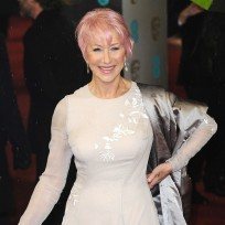 Do you like Helen Mirren with pink hair?