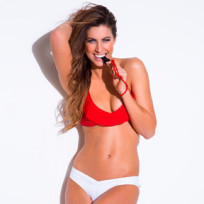 Katherine Webb in a Swimsuit