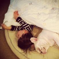 A Boy and His Bulldog
