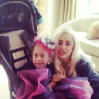Lady Gaga Visits Sick Fan