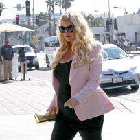 Jessica Simpson Baby Bump Photo