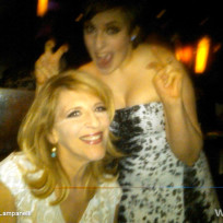 Lisa Lampanelli and Lena Dunham
