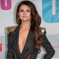 Selena Gomez Cleavage Dress