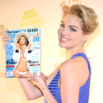 Kate Upton Holding Kate Upton Cover