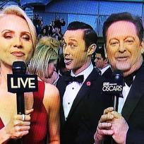 Joseph gordon levitt oscar photo bomb