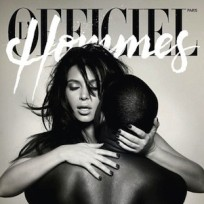 Kim Kardashian and Kanye West simulating sex on a magazine cover is...