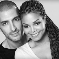 Wissam al mana and janet jackson photo