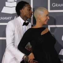 Amber Rose and Wiz