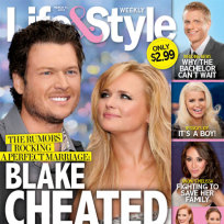 Blake shelton cheated