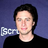 Zach Braff Smiling Photo