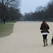 Kate Middleton Walks Dog