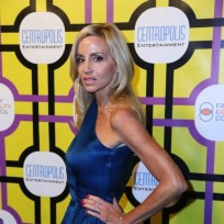 Camille Grammer Pose