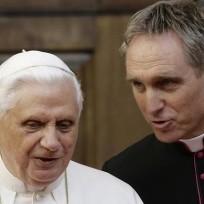 Pope benedict georg gaenswein
