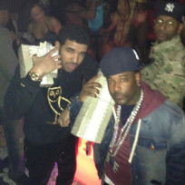 Drake at the Strip Club