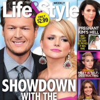 Miranda lambert slash blake shelton tabloid cover