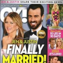 Jennifer aniston ok magazine cover