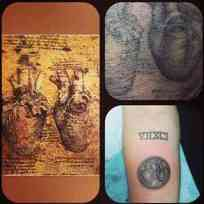 Miley Cyrus Heart Tattoo