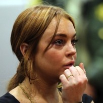 Lindsay Lohan in the Courtroom