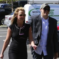 Britney Spears and David Lucado Photo
