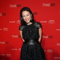 Ann curry on the red carpet
