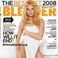 Britney Spears, Blender Magazine