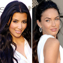 Kim Kardashian or Megan Fox: Who would you rather ...