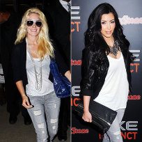 Who wore it better, Heidi Montag or Kim Kardashian?