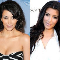 Which Kim Kardashian hairstyle do you prefer?