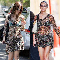 Who wore it better, Rachel Bilson or Leighton Meester?
