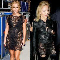 Who wore it better, Hayden or Madonna?