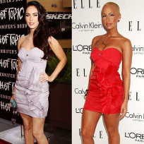 Who looks better in this dress: Megan Fox or Amber Rose?