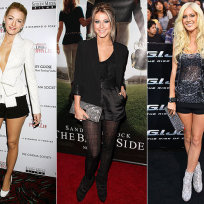 Who looked best: Blake, Julianne or Heidi?