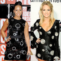 Who wore it better, Alicia Keys or Carrie Underwood?