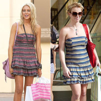 Who looked better, Stephanie Pratt or Britney?